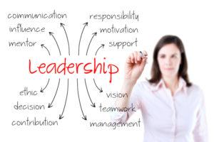 Leadership woman