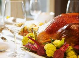 White wine and Turkey