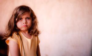 child upset