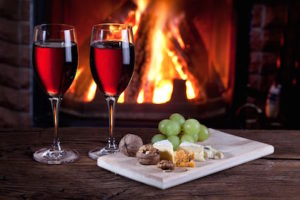 Fortified Wines- wine and cheese by the fire