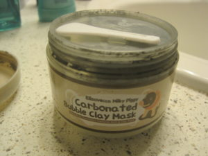 Clay mask with spreader