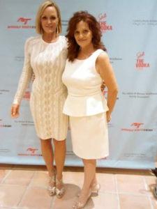 Letitia Frye with Tamara Dooley