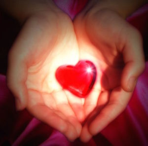 Lead with Heart-heart in hand