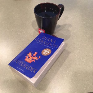 Outlander Review_book and tea