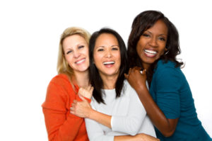 women.group.together.