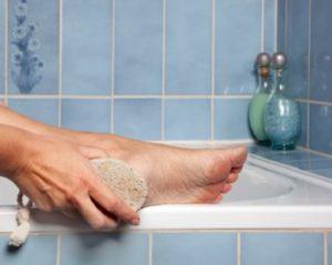 Foot care pummace stone