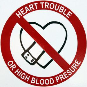 no high blood pressure