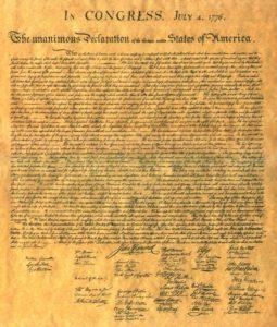 declaration of independance