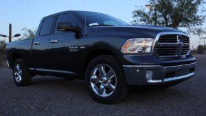 2016 Dodge RAM 1500 front quarter