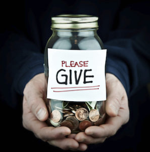 Charity CD_ money jar