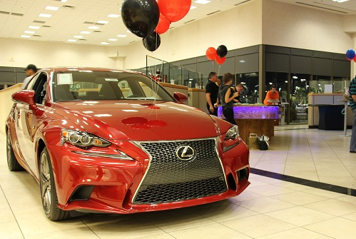 New Lexus at Superstition Springs event