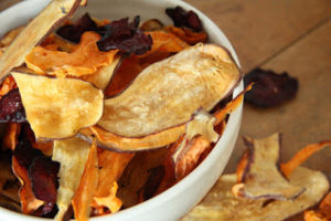 Healthier alternatives veggie chips