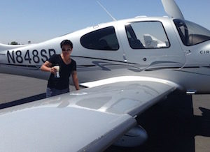 women pilots - Katryna Novelozo