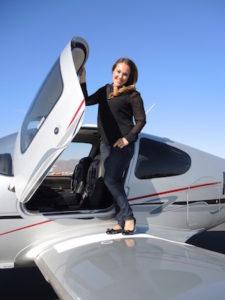 women pilots - Kiah Erlich