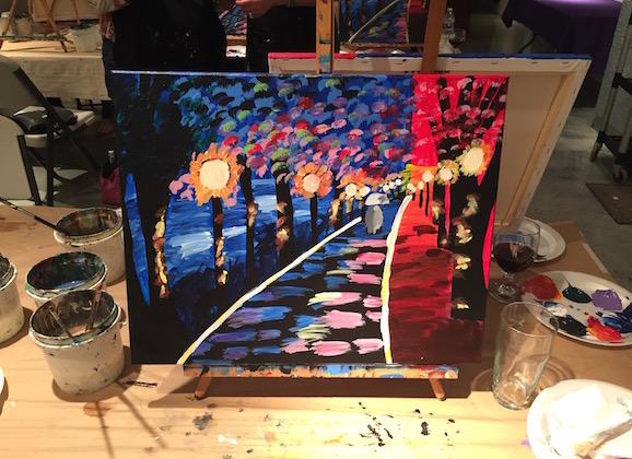 Date Night Alert: Art of Merlot