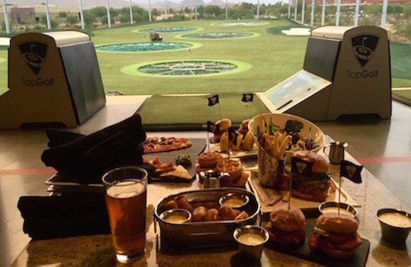 Food & Fun All in One: TopGolf