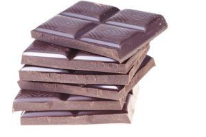 milk chocolate macro