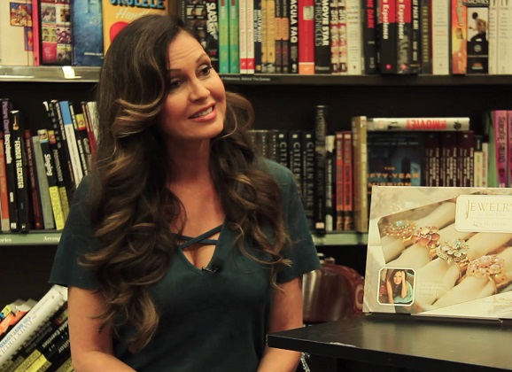 Lisa Guerrero of Inside Edition on her new Book, Jewelry for Your Table