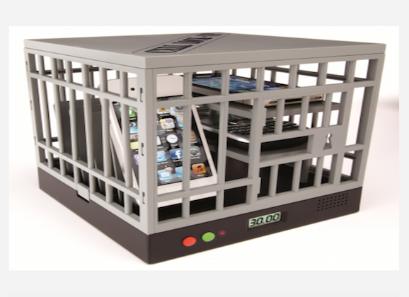 Cell Lock-Up Wants People To Put Down Their Phones