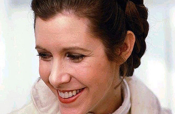 May The Force Be With You, Carrie Fisher