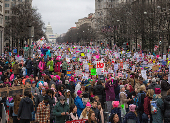 Women's March Signs To Be Archived