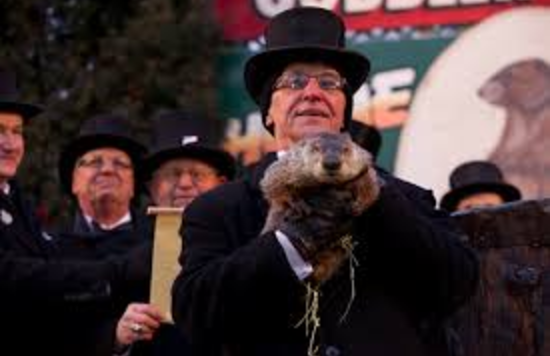 "Groundhogs day, ""It's just still once a year, isn't it?"""
