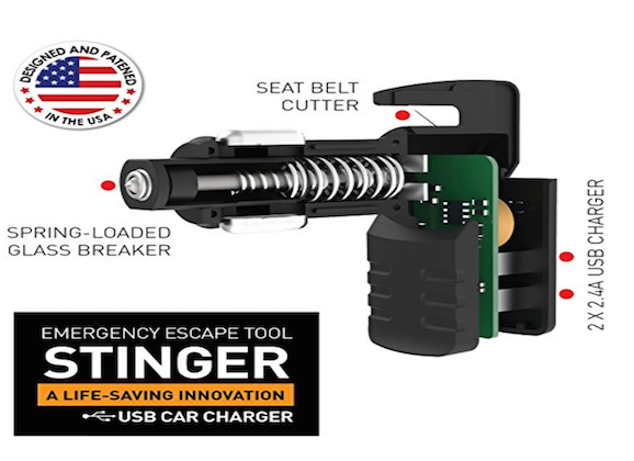 This USB Car Charger Just Might Save Your Life