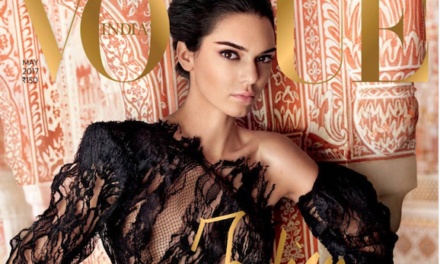 Vogue India Criticized for Putting Kendall Jenner on Cover