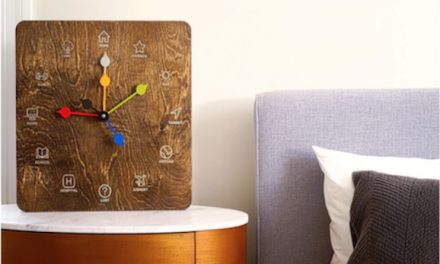 Clock Shows Where Your Friends And Family Are In Real Time