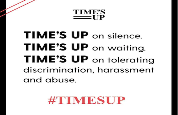 New Movement Tells People Time's Up on Sexual Harassment