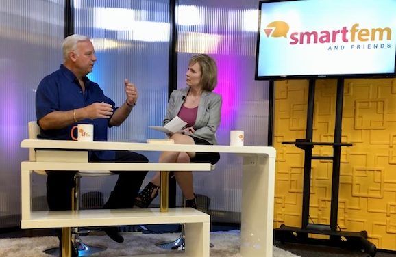 Chicken Soup for the Soul Author Jack Canfield Visits SmartFem Studios