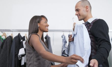 Five Items to Borrow and Restyle from Your Husband's Closet
